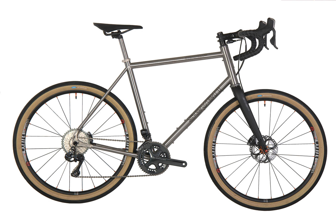 Seven's new Matador, a long-rake gravel fork