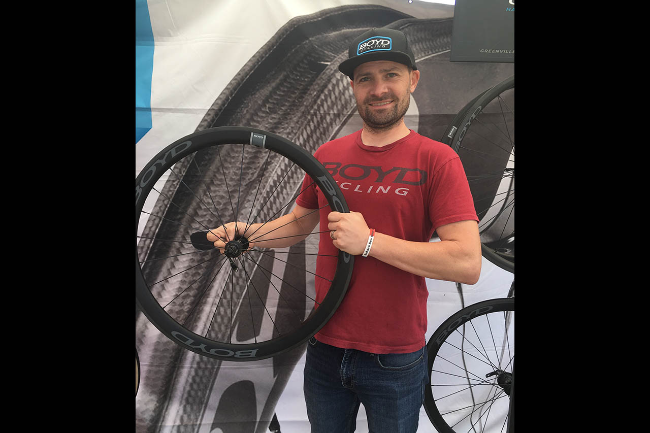 Sea Otter Expo: Boyd Cycling