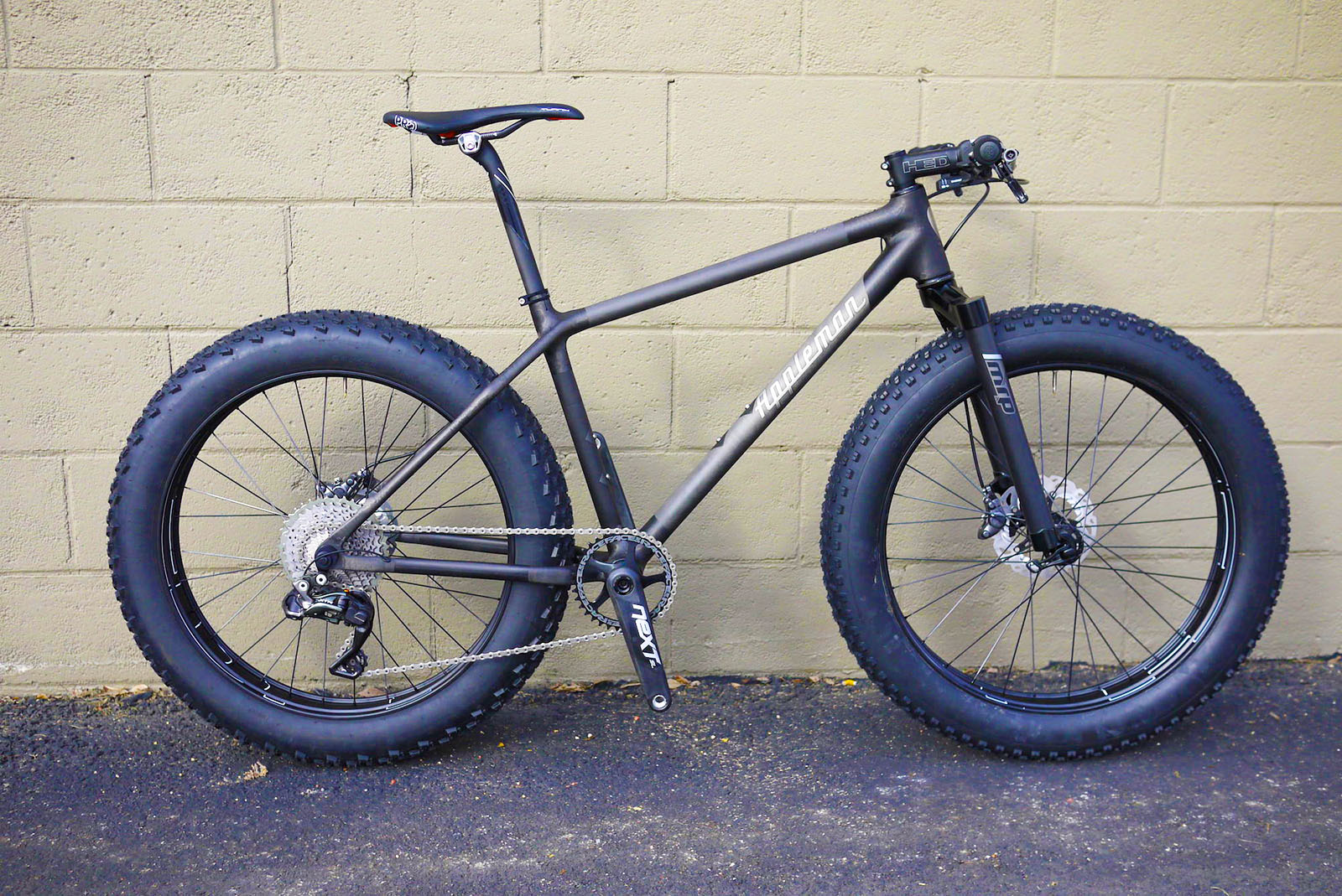 Appleman Bicycles: The 20lb fat bike