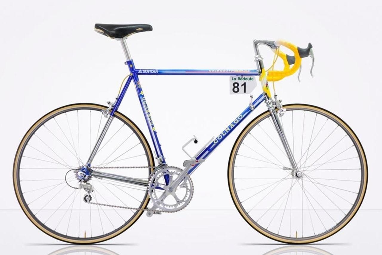 Bikes of the Velo-Retro ride: Gianni Motta Personal 2001