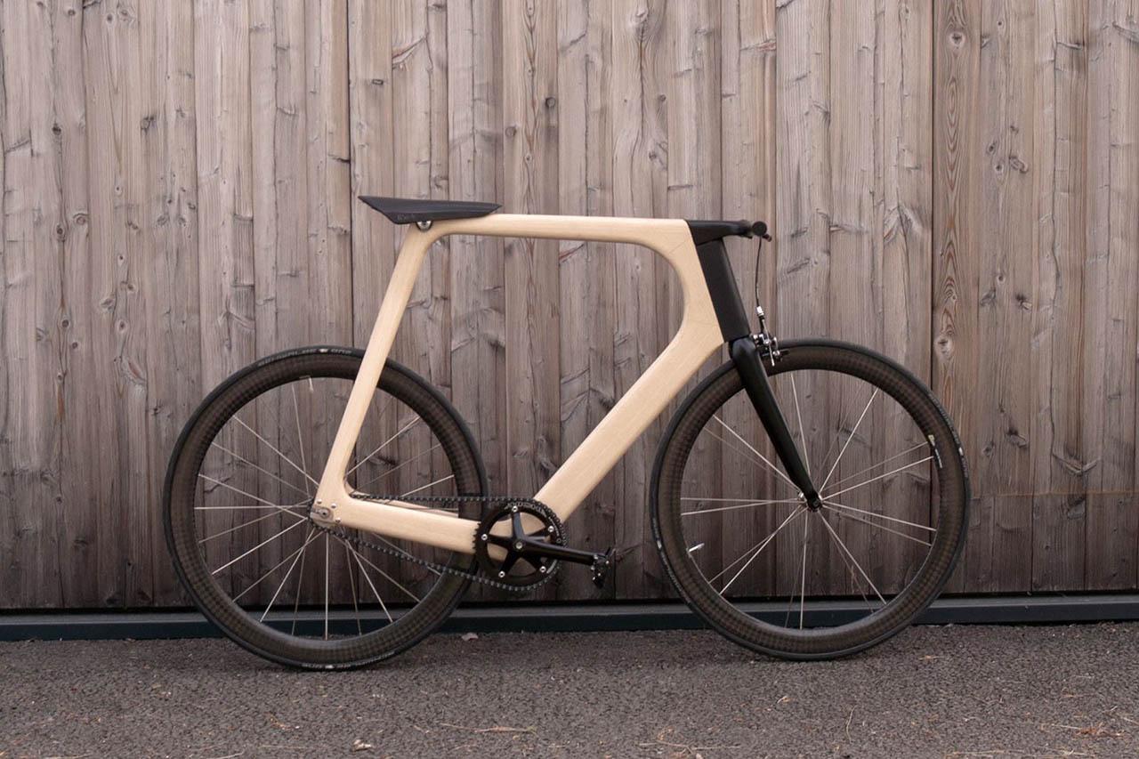 video paule guerin introduces keims range of elegant lightweight wooden bicycles - Wooden Bike Frame
