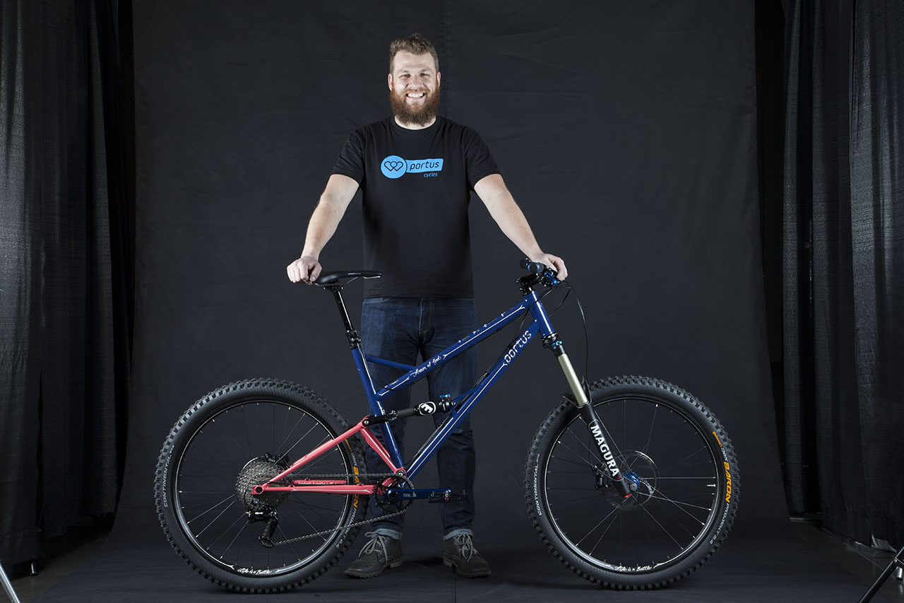 Video: Portus Cycles' Internet Community Bike 2.0 introduced by Alex Clauss