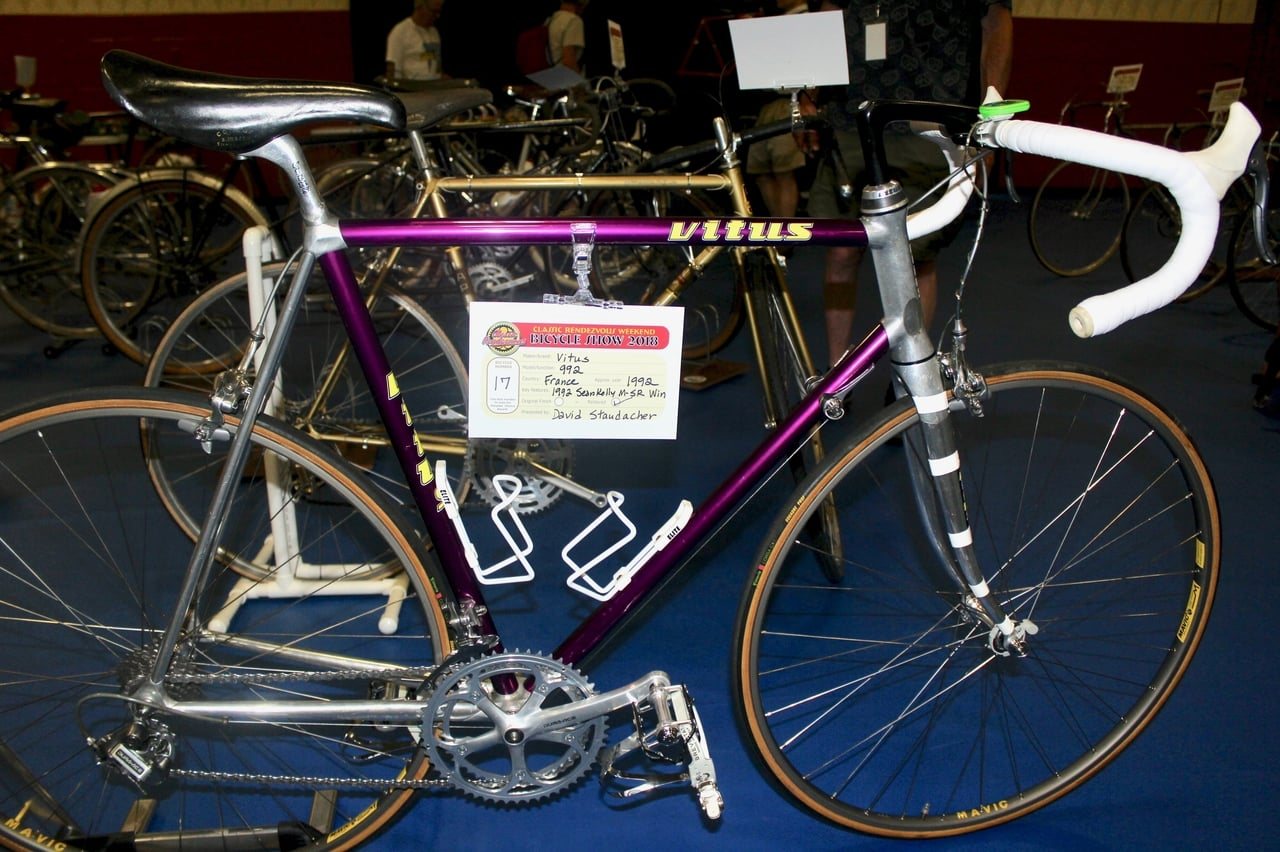 Classic Rendezvous: David Staudacher's 1992 Vitus 992: King Kelly's weapon