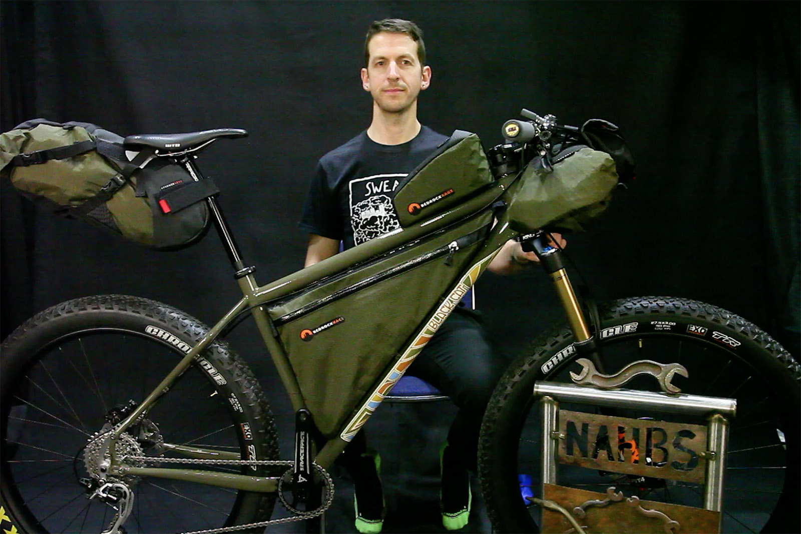 Video: NAHBS 2016 Best in Show - adventure bike by Black Cat Bicycles