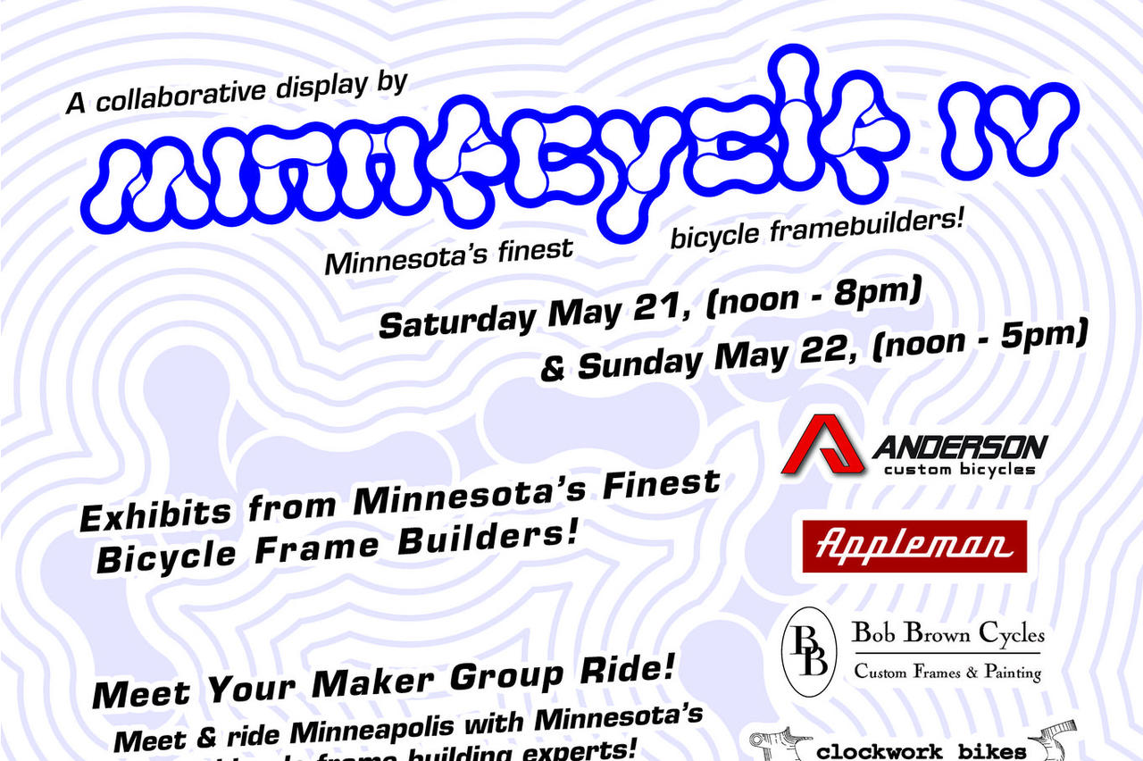 Minnecycle IV: May 21 and 22nd, Minneapolis, Minnesota
