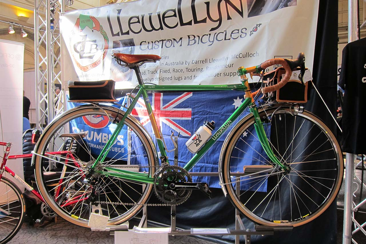 Video: Darrell McCulloch introduces Llewellyn bicycles