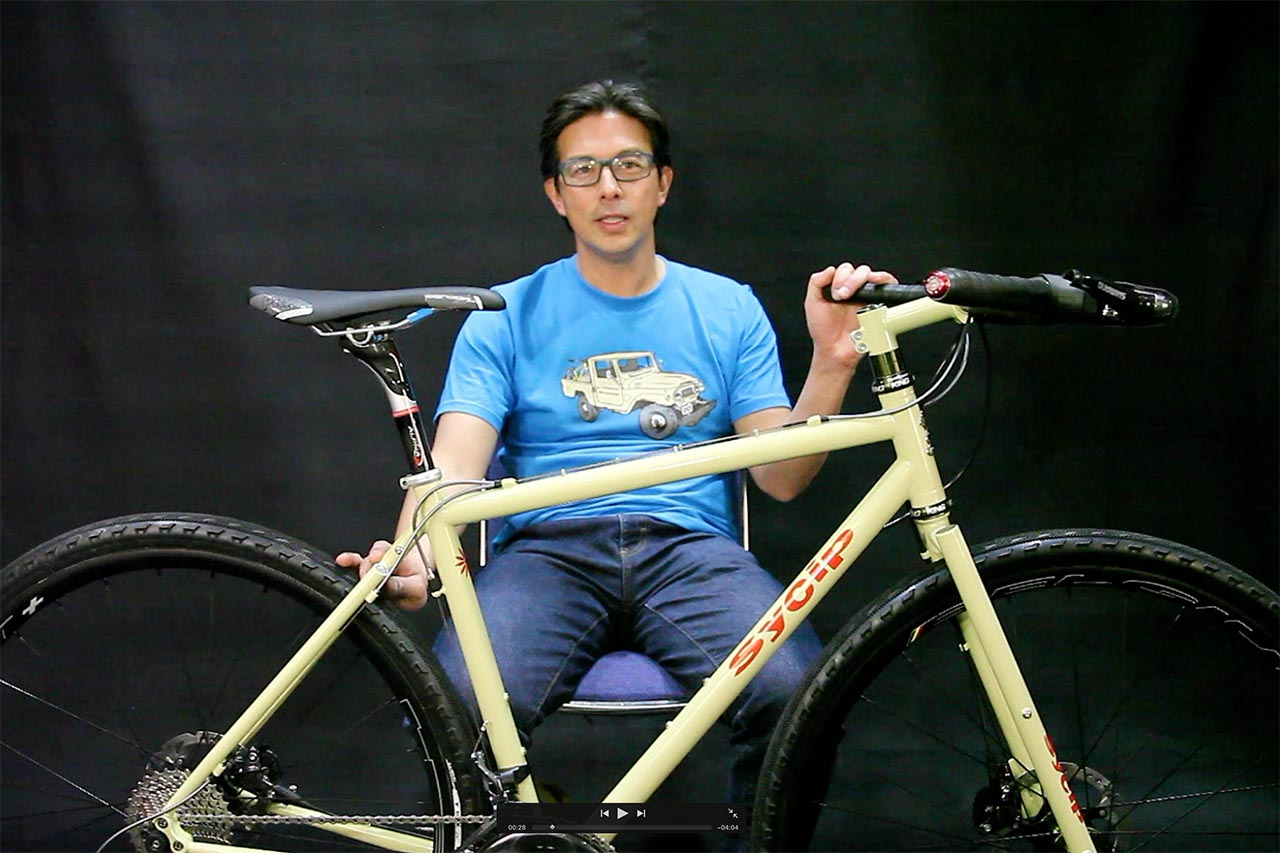 Video: Jeremy Sycip's personal gravel bike